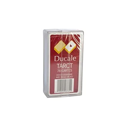 France cartes - 403781 - Jeu de Cartes - Tarot 78 cartes Ducale en Boîte plastique