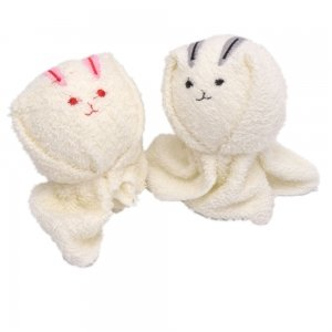 Rabbit Shaped Cake Towels