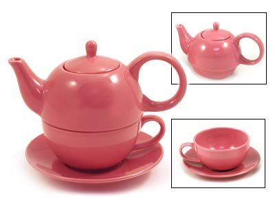 Great Features Of Tea for One Desert Rose Gloss Finish - EnglishTeaStore Brand
