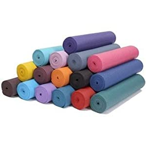 Buy Colorful Yoga Mats (TM) 1 4 Extra-Thick Deluxe Classic Yoga, Pilates & Exercise Mat by Colorful Yoga Mats (TM)