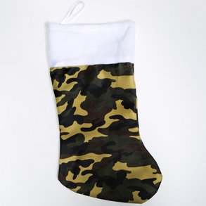 Camouflage Christmas Stockings For Hunters