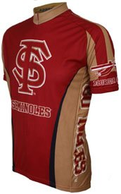 Buy Low Price Florida State Cycling Jersey (large) (FSU-L-Jersey)