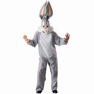 Bugs Bunny Looney Tunes Adult Fancy Dress Costume