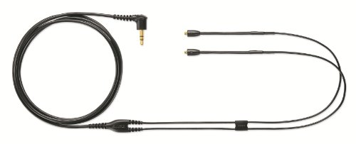 Shure EAC64BK 64 -Inch Detachable Earphone Cable for SE215, SE315, SE425 and SE535 Earphones (Black)