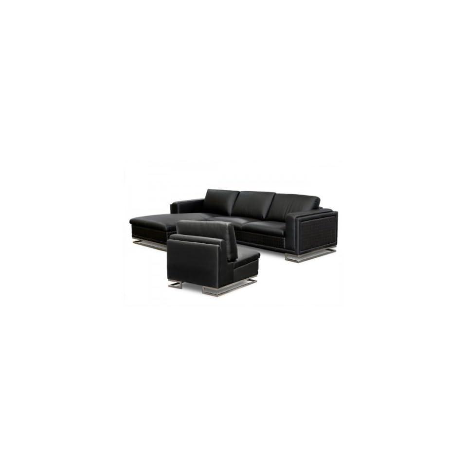 Awe Inspiring Blvdlfsect3Pcb Boulevard Series Set Of Left Facing Sectional Inzonedesignstudio Interior Chair Design Inzonedesignstudiocom