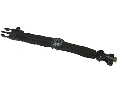 black-survival-camping-compass-bracelet-whistle-buckle-nylon-parachute-cord