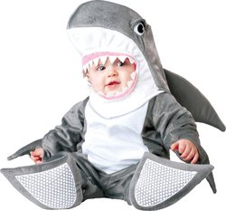 [Baby Boy's Costume: Silly Shark-6-12 Months PROD-ID : 1457987] (Baby Silly Shark Costumes)