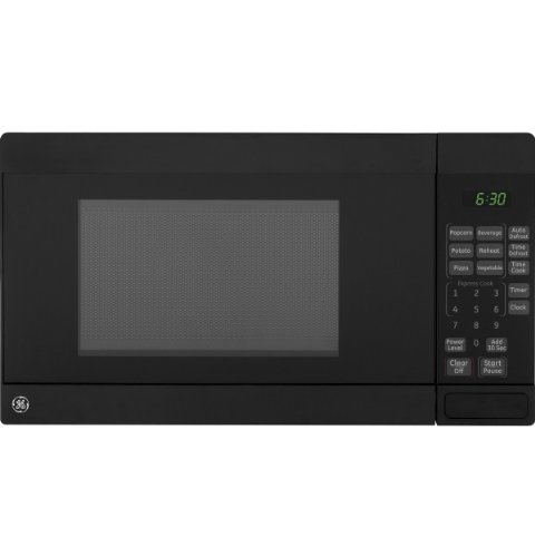 GE JE740DRBB 0.7 cu. ft. Countertop Microwave Oven 700 Watts - Black