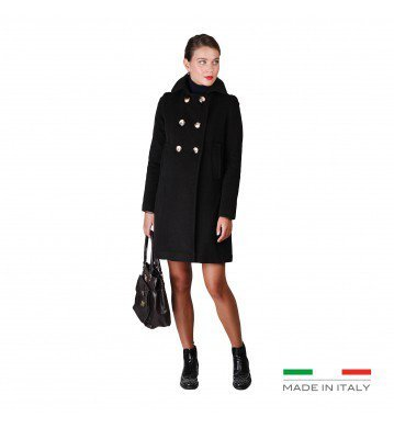 Fontana 2.0 CORINNE Donna Cappotto Women Marrone 44
