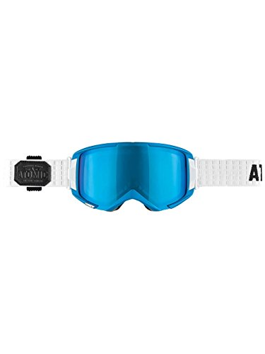 Atomic AN5105250_Blu/Mid Blue Ml_One size - Maschera da sci unisex, taglia unica, colore: Blu Blu/Mid Blue Ml