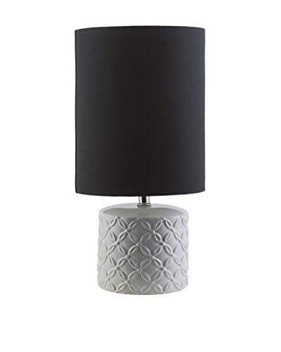 Surya Whitsett Table Lamp, White