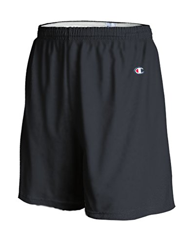 Champion Men's 6-Inch Black Cotton Jersey Shorts - XX-Large