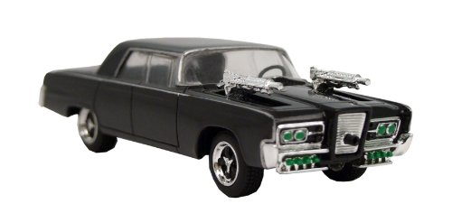 The Green Hornet Movie Black Beauty Collectible Die-Cast Vehicle with Weapons Drawn