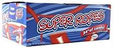 Red Vines Super Ropes 34 Inch 2 Oz