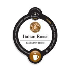 Barista Prima Italian Roast Coffee Keurig Vue Portion Pack, 48 count
