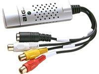 Bigtec USB 2.0 Audio Video Grabber PC Video Adapter bearbeiten Videoadapter Videoschnitt + Ulead Software