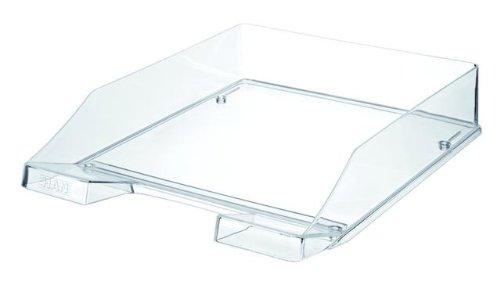 HAN-1026-X-23-Briefablage-KLASSIK-Modern-Schick-Transparent-und-Hochglnzend-6er-Packung-transparent-glasklar