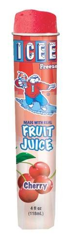 Icee Cherry Freeze Squeeze Up Tubes, 4 Ounce -- 24 per case. (Cherry Icee compare prices)