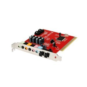 PCI 8 Channel Internal Sound Card with Optical Output and Cable By Accessory Land