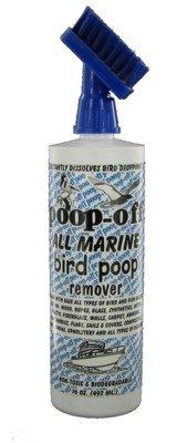 Poop-Off All Marine Bird Poop Remover Brush Top