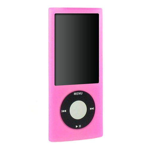 (5 Colors Available) 5 in 1 iPod Nano 5th generation silicone case bundle for 5th Gen accessories skin cover, armband
