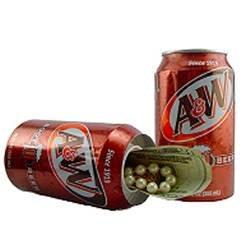 A&W Soda Can Hidden Can Safe