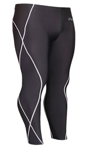 Emfraa Skin Tights Compression Leggings Baselayer Running Pants Men Women Xs ~ 2XL