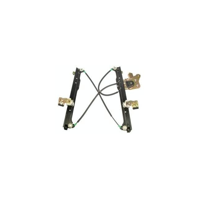 Dorman 741 578 Rear Driver Side Replacement Power Window Regulator with Motor for Select Cadillac/Chevrolet/GMC Models