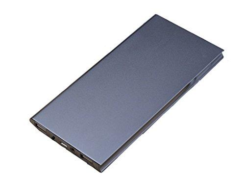 DoSHIn Nuova cassa del metallo ultrasottile 20000mAh LED Dual USB del polimero di potere del caricabatteria Banca iPhone, Samsung, iPad, Sony, MP3 / MP4 e molti Smartphone (Nero)