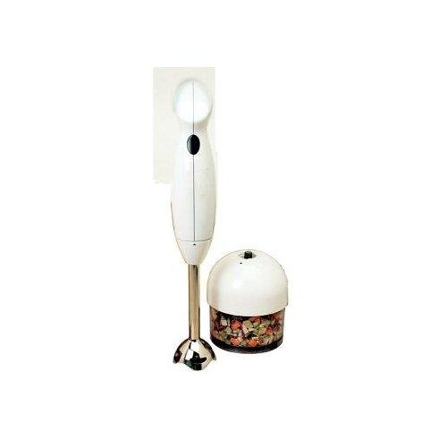 Elite Cuisine EC-3060X Maxi-Matic 200 Watt Hand Blender with 3-Cup food Processing Cup and Attachments, White (Elite Maximatic Blender compare prices)