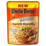 Uncle Ben's Express Vegetable Biryani Rice 250G