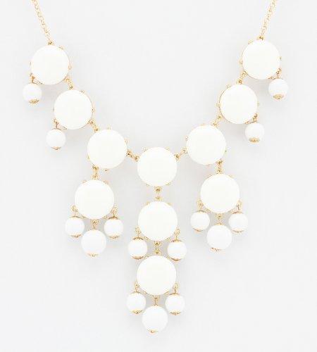 Color Bubble BIB Statement Fashion Necklace -