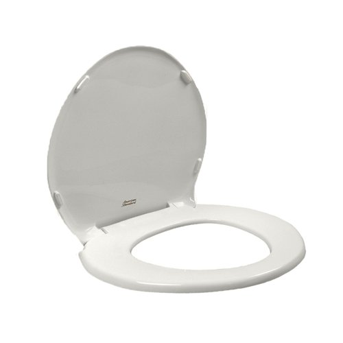 American Standard 5330.010.020 Champion Slow Close Round Front Toilet Seat with Cover, White (Slow Closing Hardware compare prices)
