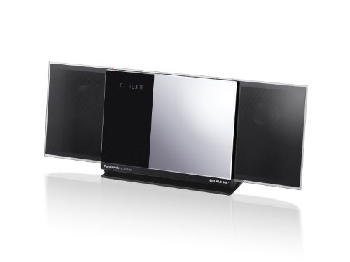 Panasonic SC-HC37 Energy Star Micro 40-Watt Audio System with Auto-Sliding Dock