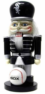 MLB Chicago White Sox Elite 7&quot; Nutcracker at Amazon.com