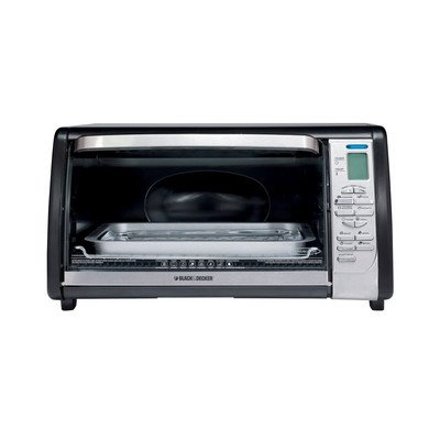 Black & Decker TO1635B Countertop Digital Convection Oven, Black/Silver (Compact Digital Toaster Oven compare prices)