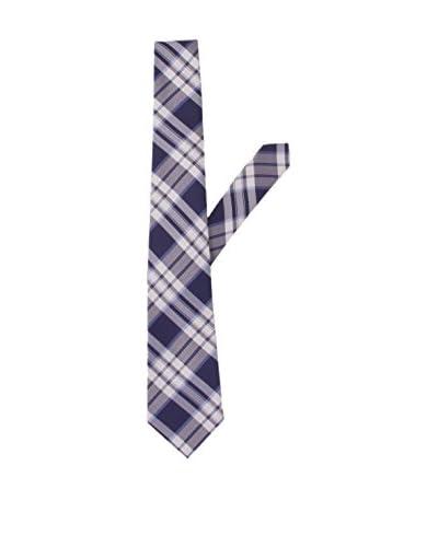 Arcieri Cravatta  Blu/Bianco Unica