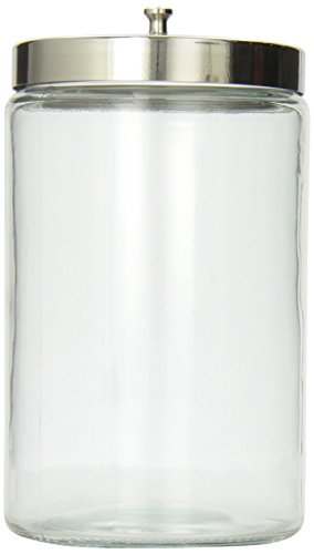 Mabis Stor-A-Lot Sundry Jar without Imprints, Glass, Clear (Medical Glass Jar compare prices)