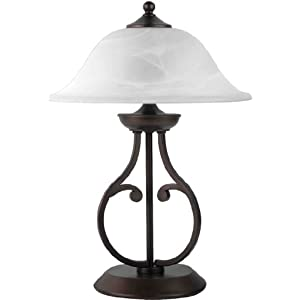 Coaster Home Furnishings 901207 Casual Table Lamp, Dark Bronze