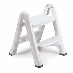 Rubbermaid Commercial 4209 Ez Step 2 Step Folding Stool