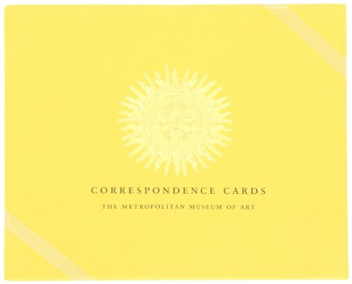 Boston International Metropolitan Museum Of Art Boxed Correspondence Cards SunburstB001D1PNAW