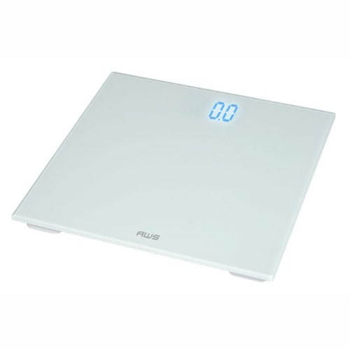 Image of American Weigh Scales Digital Personal Bathroom Glass Scale (B00AEVVPN6)