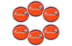 "Hotsnapz Reusable 4"" Hand Warmers"