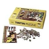 Puzzle Trésor du Château + Poster des Aventures de Tintin - Collection Moulinsart...