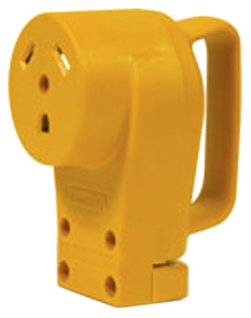 Camco 55343 RV 30 AMP Female Replacement Receptacle