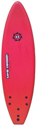 Liquid Shredder FSE EPS/PE Soft Surf Board (Red, 6-Feet)