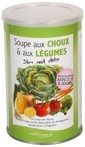 Soupe aux Choux et aux Légumes - Slim and détox - Cure minceur express - 5 jours - 250 g