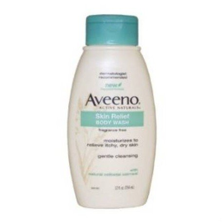Body Wash Aveeno 12Oz Ea/1 J&J Sales front-1024636