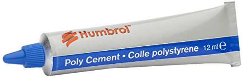 Humbrol Poly Cement Adhesive, 12ml