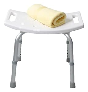 enzo rodi 221641 tabouret de douche baignoire blanc cuisine maison. Black Bedroom Furniture Sets. Home Design Ideas